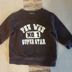 Pee Week superstar brown sweatshirt